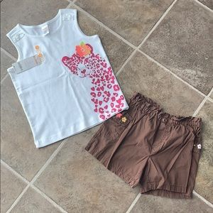 NWT Gymboree outfit size 7-8
